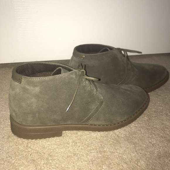 Paleto Puntuación organizar  Geox Shoes | Geox Respira Suede Chukka Boots | Poshmark
